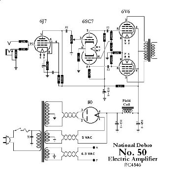 National Amp Schematic - Wiring Diagram Home on