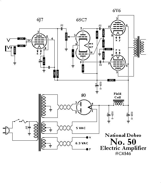 National Amp Schematic